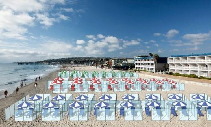 A mund të jetë kjo zgjidhja për plazhin e këtij viti, në mënyrë që të ruhet distancimi social?