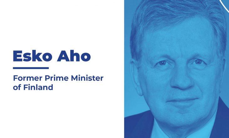 Shkolla Finlandeze organizon ligjëratë me Ish-Kryeministrin e Finlandës, Z. Esko Aho