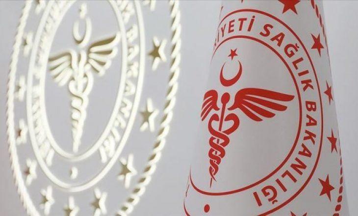 Rreth 10 mijë raste të reja me Coronavirus në Turqi