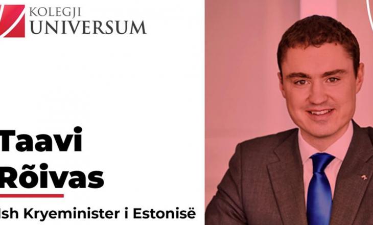 Kolegji Universum organizon konferencë online me Ish Kryeministrin e Estonisë
