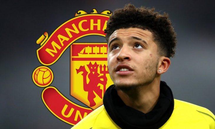 Sancho e konfirmon transferimin në Manchester United