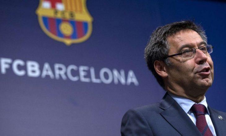 Barcelona i kundërpërgjigjet ish zv. Presidentit të skuadrës