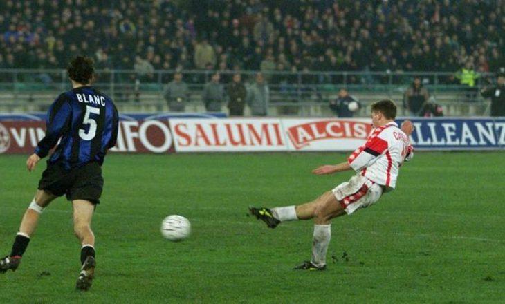 Cassano kujton golin që e shpëtoi nga burgu (VIDEO)