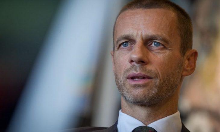 Flet kreu i UEFA-s, Ceferin – jep një lajm të madh për adhuruesit e futbollit