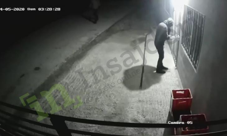 'Ora policore' nuk vlen për hajnat – Pamje se si vidhet një dyqan në Lutogllavë të Pejës