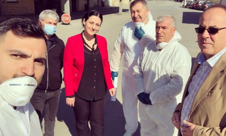 Drejtoresha Imishti: Ishim në dijeni për të infektuarin me koronavirus nga Han i Elezit