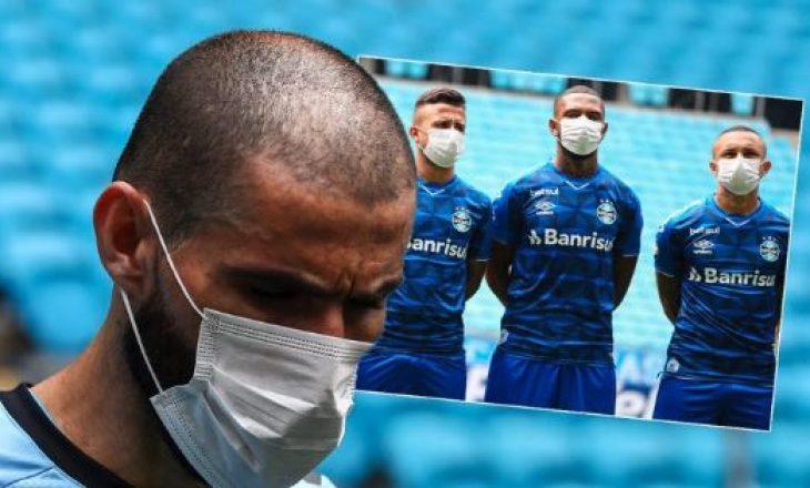 """""""Të luhet futbolli me maska, të ndalet loja kur bien në tokë"""""""