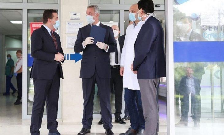 Mediumi serbe: Gjukanoviq është infektuar nga koronavirusi