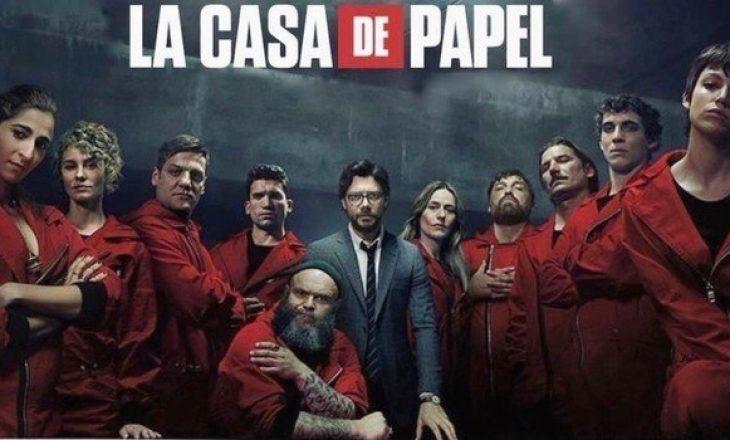 """Dy fytyra të reja në sezonin që do të jetë i fundit për """"La Casa de Papel"""""""