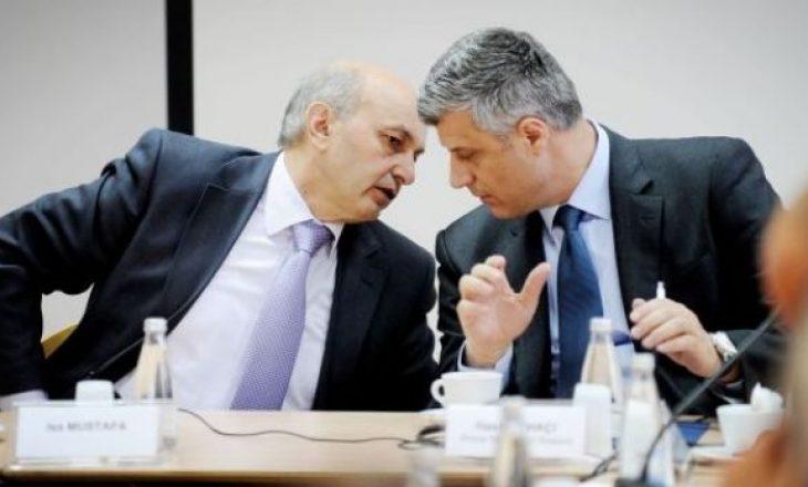 Isa Mustafa : Hashim Thaçi është tërhequr nga paralajmërimet për ndarje