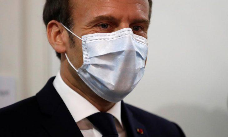 Macron infektohet me COVID-19