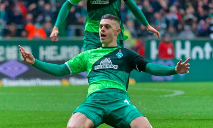 Edhe Bundesligës po i mungon Rashica – poston këtë gol të kosovarit [Video]