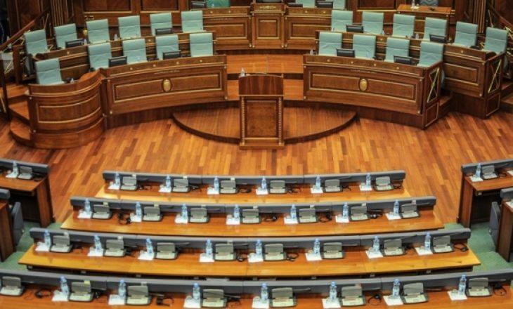 Përfundon seanca për raportimin e Hotit rreth dialogut – Nuk ka kuorum për votimin e rezolutës