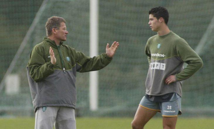 Rrëfimi i ish-trajnerit që zbuloi Ronaldon: E krahasova me Figon, në Portugali u çmendën