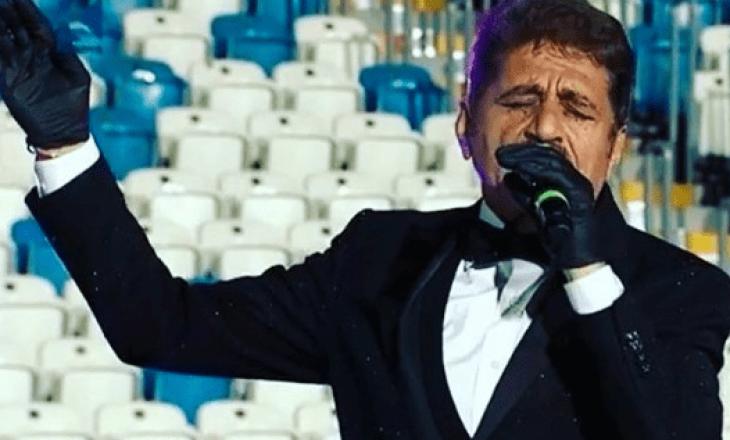 """Sabri Fejzullahu flet pas performancës në stadiumin """"Fadil Vokrri"""""""