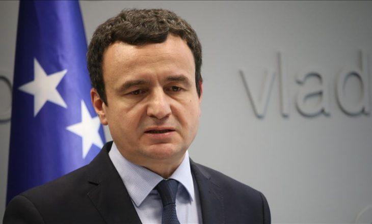 Kurti, bisedë telefonike me kryetarët e Bujanocit dhe Preshevës