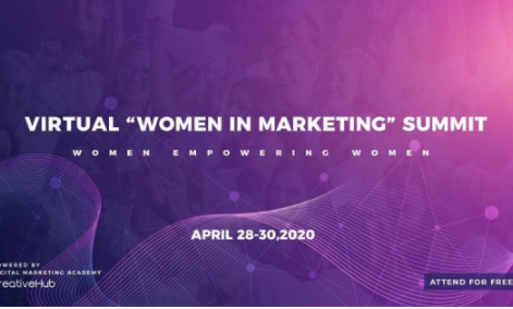 """Gratë e bashkuara lançojnë samitin virtual """"Women in Marketing"""" në kohët e COVID-19"""