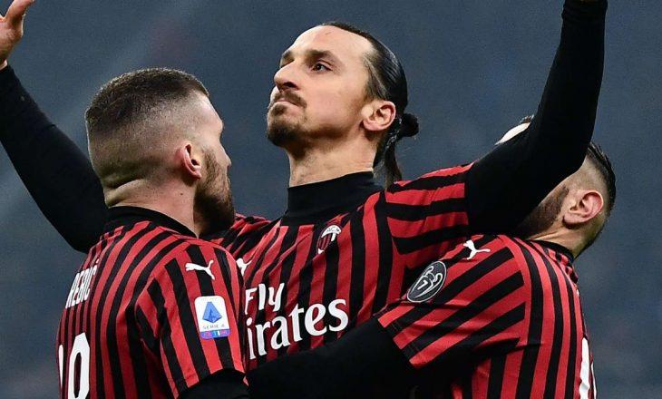 Ibrahimovic rikthehet në stërvitje të Milanit pas daljes nga karantina
