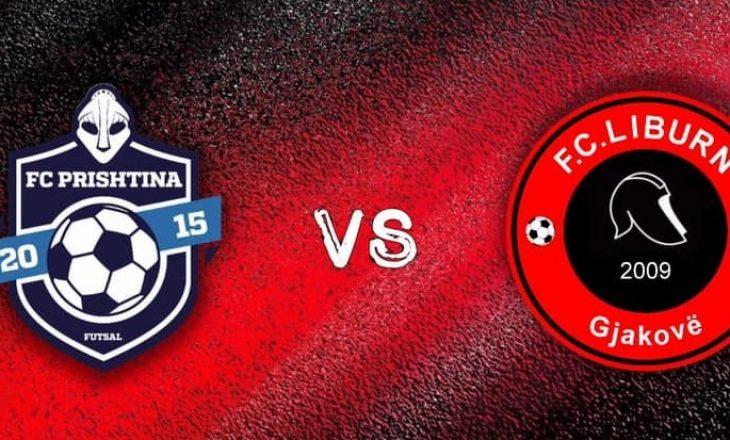 FC Liburni vs FC Mebetex Prishtina në finalen e futsallit