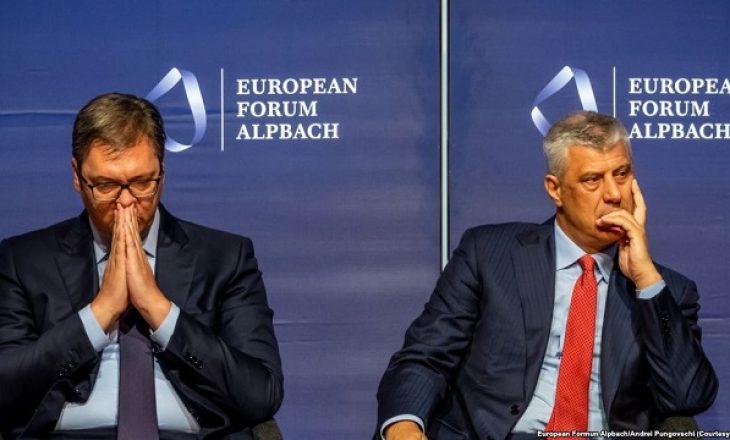 Vuçiq nuk beson që Thaçi do të jetë udhëheqës i dialogut
