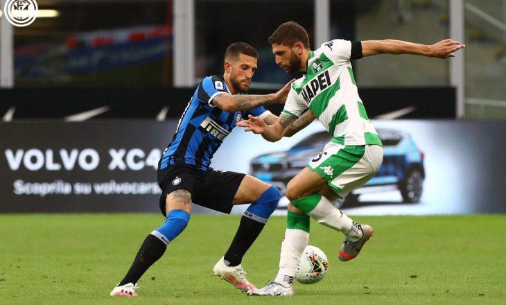 Inter sërish në nivelin e Sassuolo