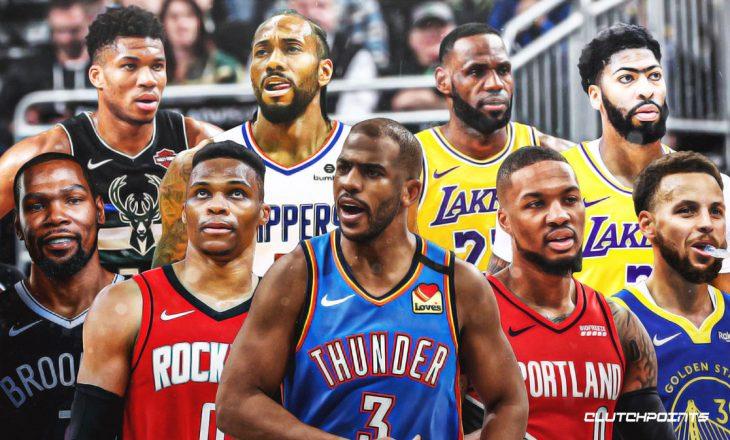 Kush janë liderët e NBA?