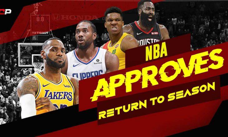 NBA planifikon kthimin në këtë datë