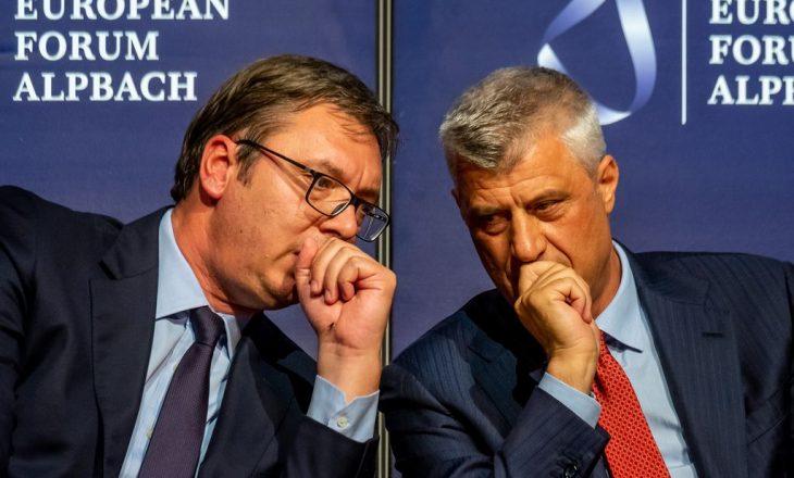 Vuçiq: Jam gati të negociojë me Thaçin edhe pse është i akuzuar