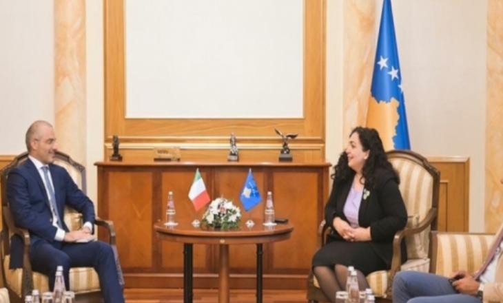 Italia në mbështetje të dialogut