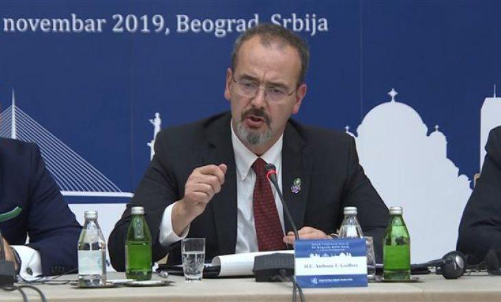 Ambasadori amerikan në Serbi për takimin në Uashington: Po ua hapim derën e zhvillimit