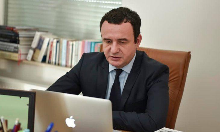 Komisioni parlamentar për menaxhimin e pandemisë e fton Kurtin në intervistim