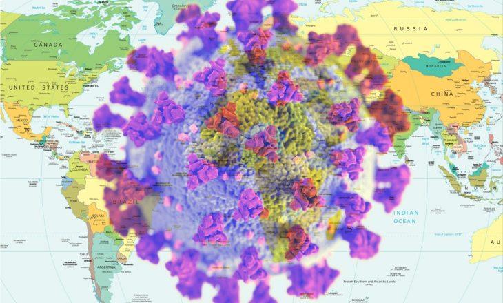 Coronavirusi me statistika të frikshme nëpër botë