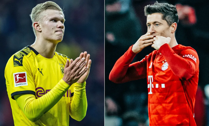 Kush shënoi më shumë gola pas pandemisë, Lewandowski apo Haaland?