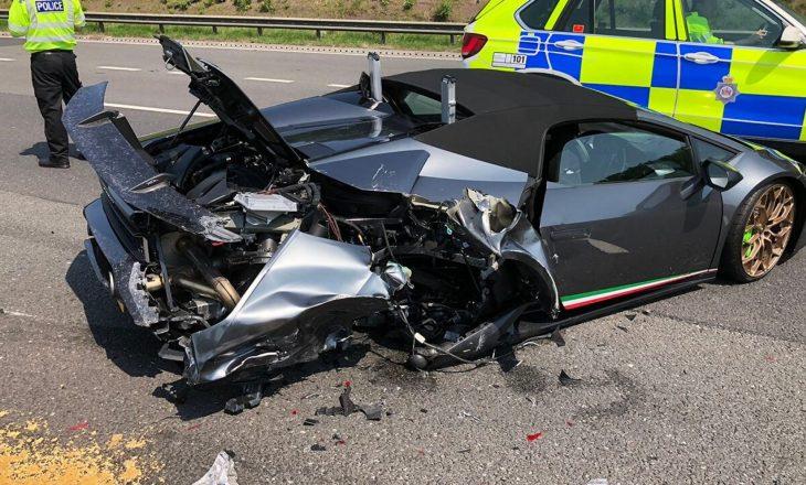 Pronarit të ri iu deshën vetëm 20 minuta të shkatërronte Lamborghini-n e 300 mijë dollarëve