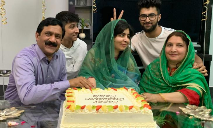 Malala Yousafzai diplomon në Universitetin e Oxford-it