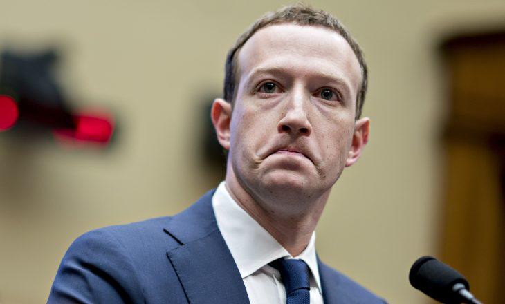 Mark Zuckerberg humbet 7.2 miliardë dollarë në një ditë