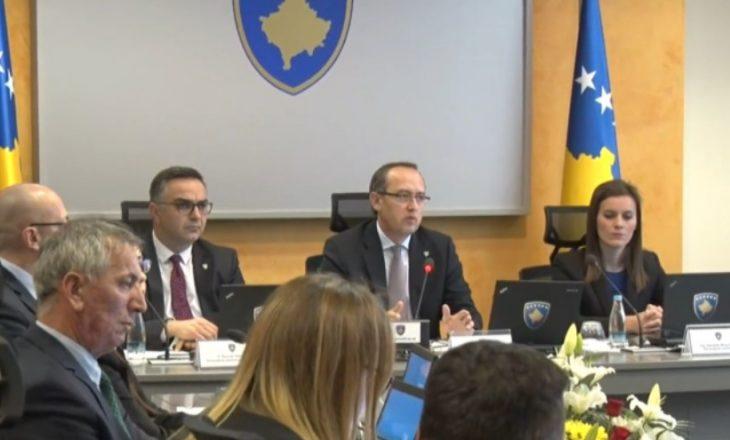 Qeveria e Kosovës do të mblidhet në ora 18:00