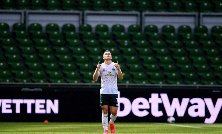 Shpëton Rashica, Werder do të luaj në Play-Off