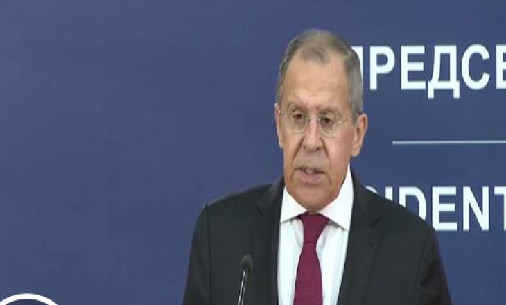 Lavrov: Çfarë i përshtatet Serbisë, ne e mbështesim