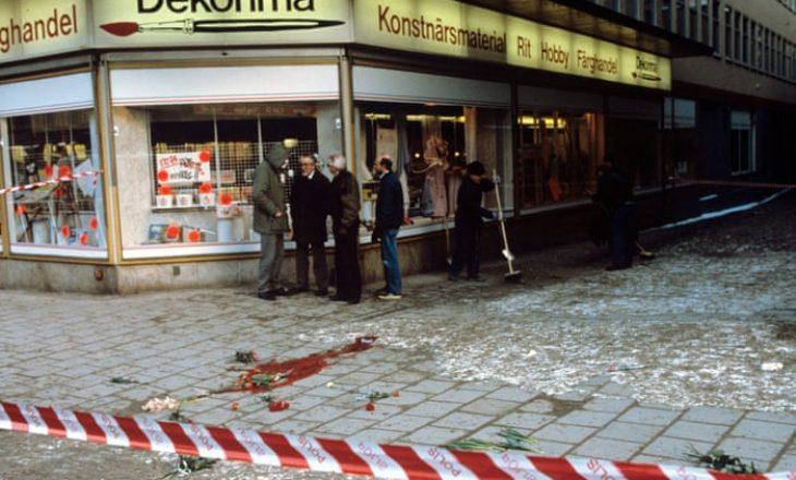 Zbulohet vrasësi i ish-kryeministrit suedez