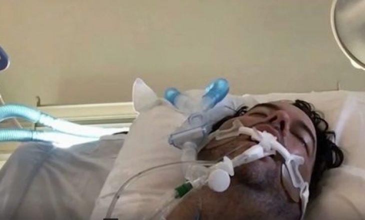 Babai në rrezik për jetë sepse i biri u takua me miqtë dhe infektoi familjen me Covid-19