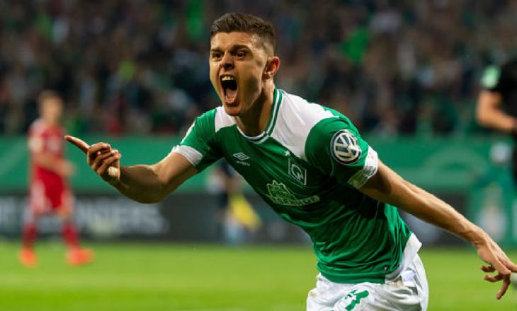Werder Bremen refuzon ofertën e parë për Milot Rashica