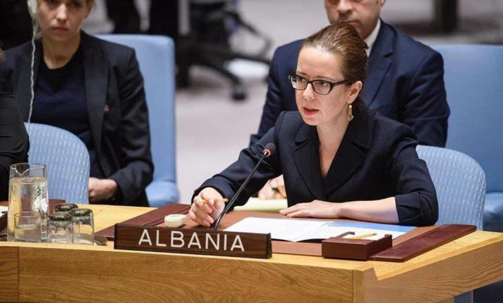 Besiana Kadare, e bija e shkrimtarit të madh, zëvendëspresidente e sesionit 75 të Asamblesë së Përgjithshme të OKB-së