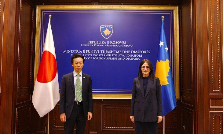 Meliza Haradinaj – Stublla: Hapja e ambasadës së Japonisë arritje për Kosovën