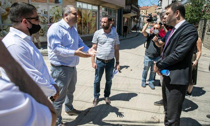 Shpend Ahmeti inspekton punimet e rrjetit të energjisë elektrike në kryeqytet