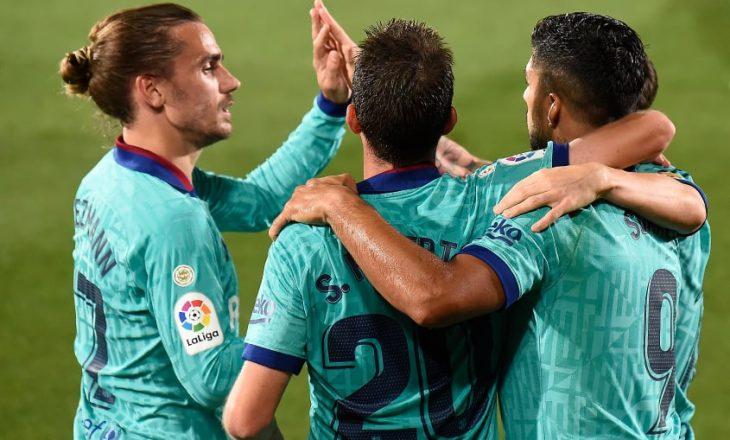 Pjesa e Parë: Barcelona në top formë