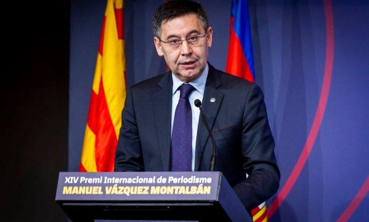 Presidenti i Barcelones akuzon rëndë VAR-in për penalltinë e dhënë ndaj Real Madrid