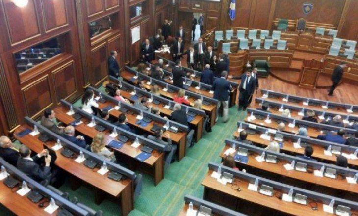 Ndërpritet seanca e Kuvendit të Kosovës – eskalon situata