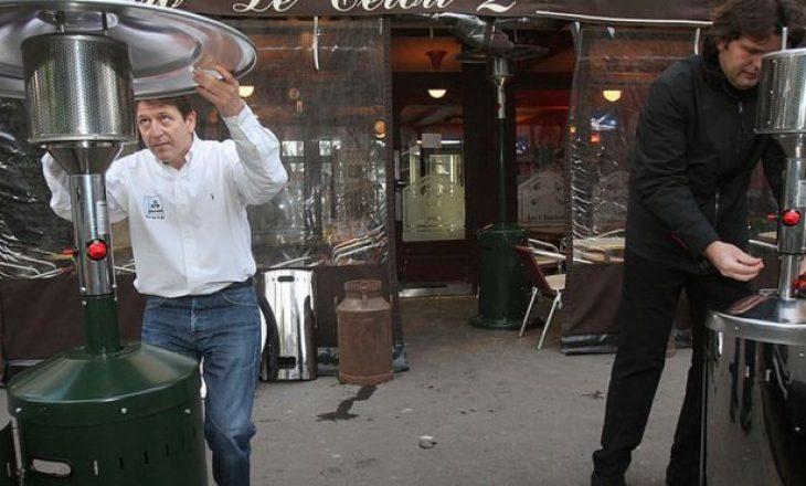 Franca do të ndalojë tarracat me ngrohtore në kafene dhe bare