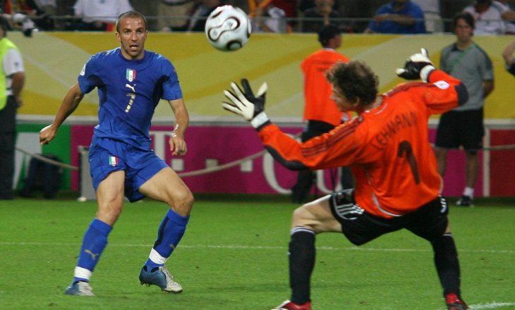 Del Piero kujton golin kundër Gjermanisë
